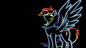 Rainbow Dash Wallpaper by konditorei
