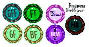 Monster High Bio Stamps by Breannamation