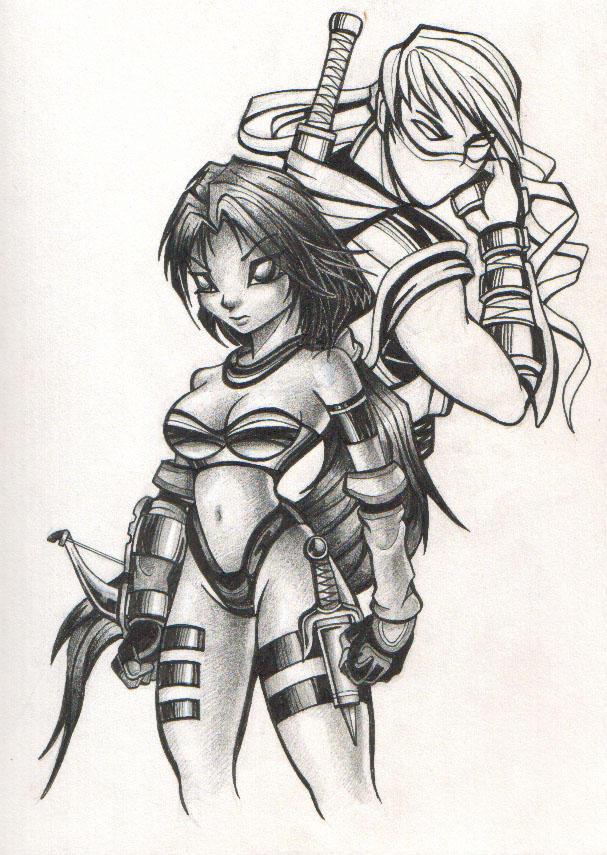 warrior by LOLONGX