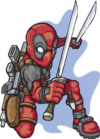 deadpool by LOLONGX