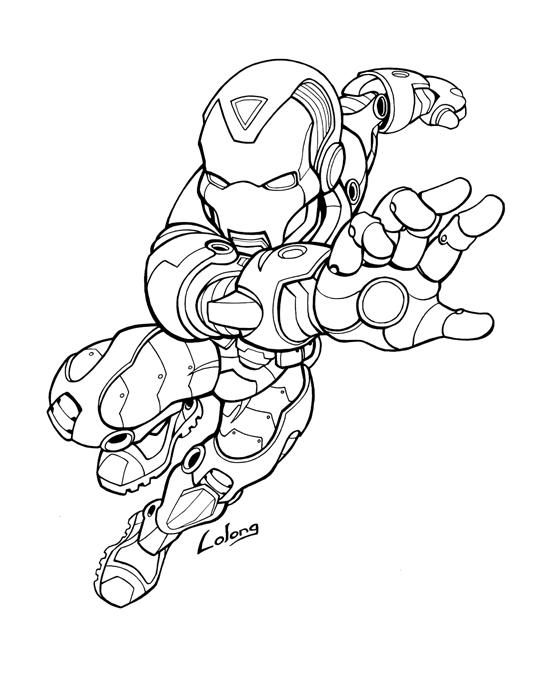 ironman ink by LOLONGX