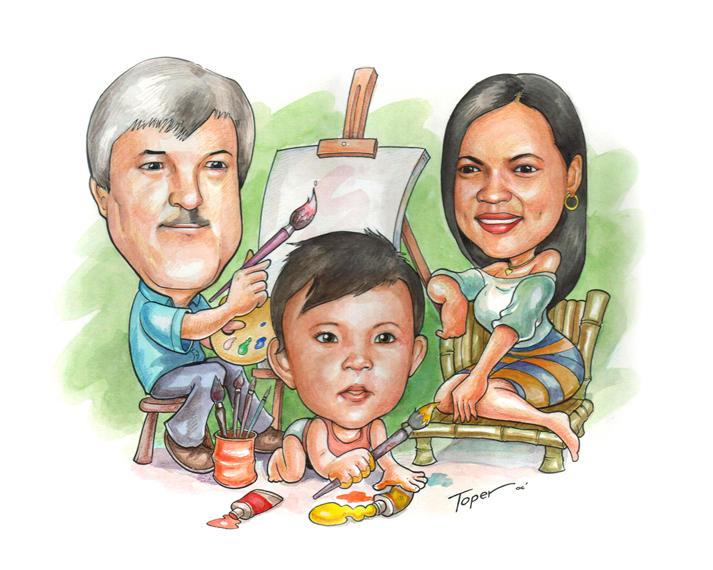 family portrait by LOLONGX