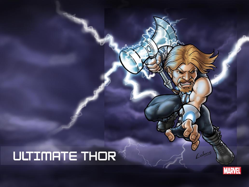 ultimate thor wallpape...