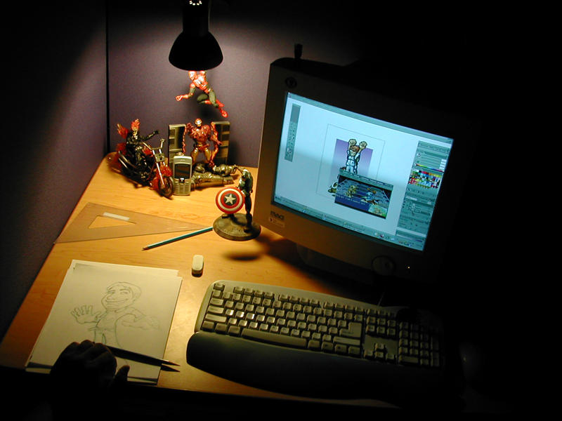 desktop by LOLONGX