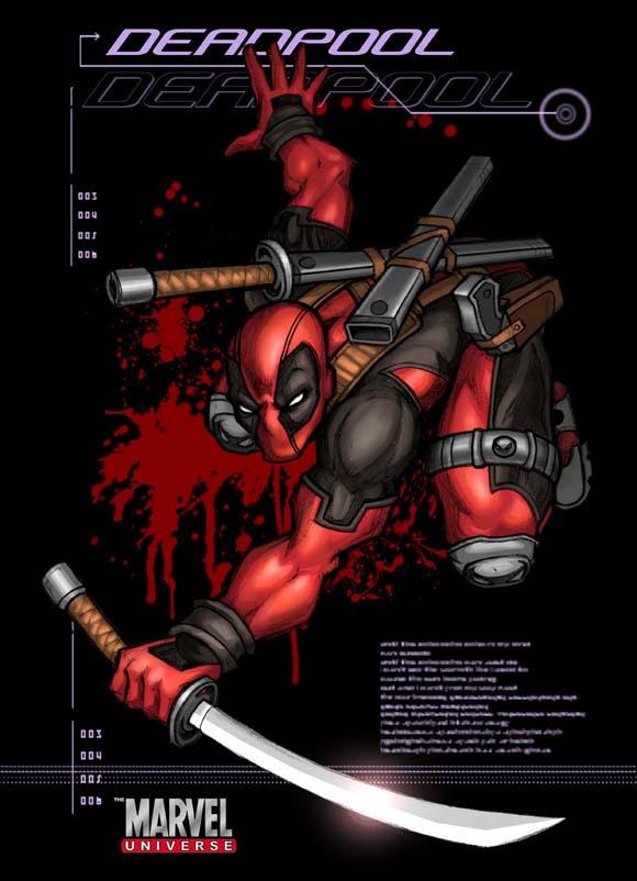 DEADPoOL COVER by LOLONGX