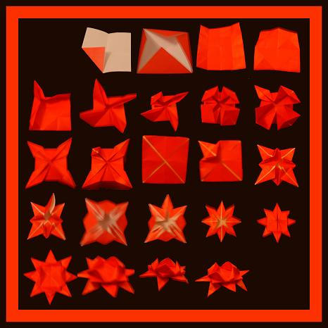 My origami star by KADmariposa