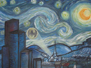 Starry Night in Gotham
