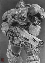 StarCraft 2 Jim Raynor (recaptured final)