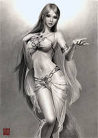 Sillia the Most Beautiful Goddess