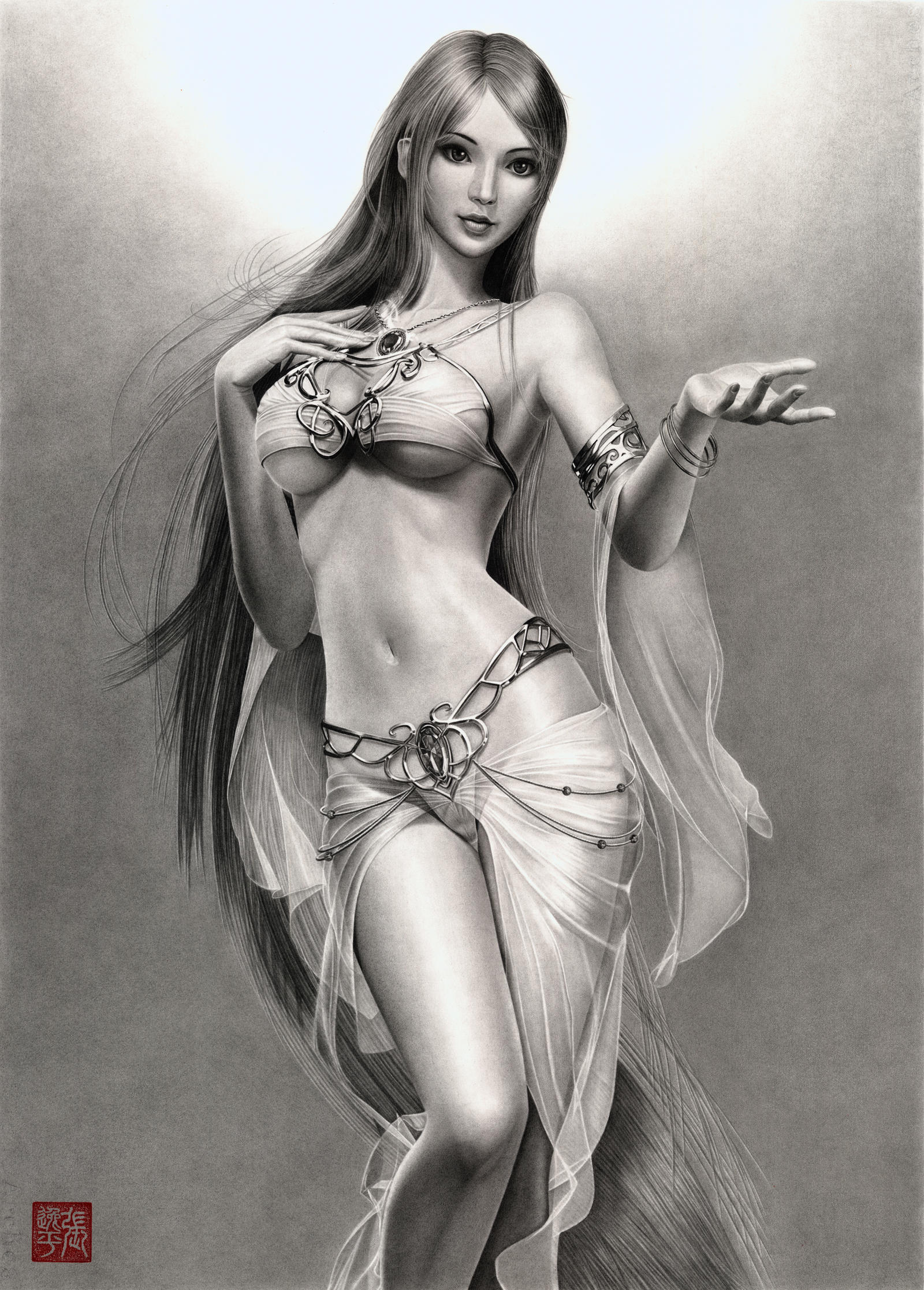 Sillia the Most Beautiful Goddess by yipzhang5201314