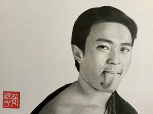 Stephen Chow Funny Portrait