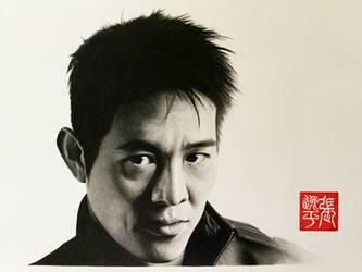 Jet Li Portrait by yipzhang5201314