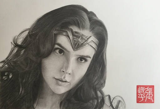 Wonder Woman (Gal Gadot) Portrait