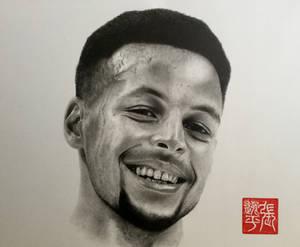 Stephen Curry Portrait