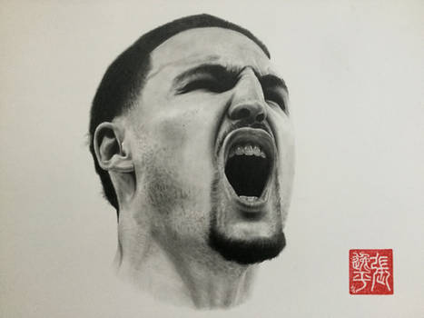 Klay Thompson Portrait