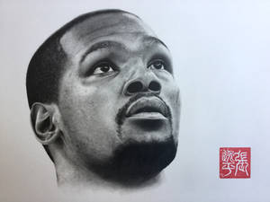 Kevin Durant Portrait