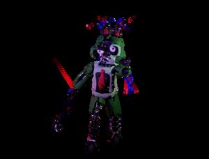 the broken melon-colored rabbit