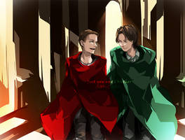 Wincest in Asgard by resave