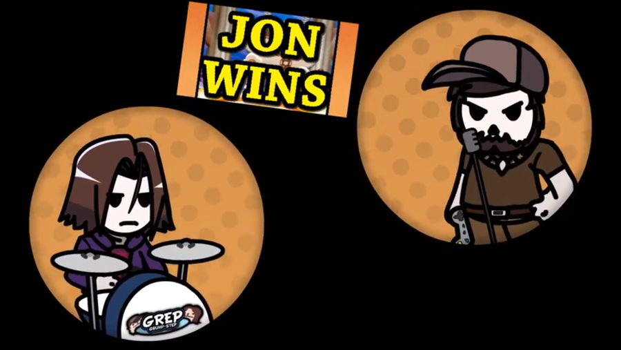 [Video] - Game Grumps Animated: Jon Wins by PeekingBoo