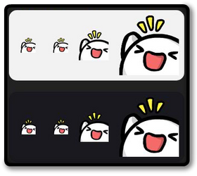 Twitch Emote - pkingHype