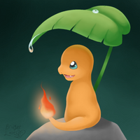 Charmander - After the Rain Ends by Luna6294