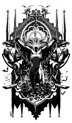 Blackheart Lineart