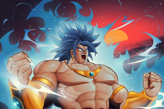 Broly - Legendary Super Saiyan Blue