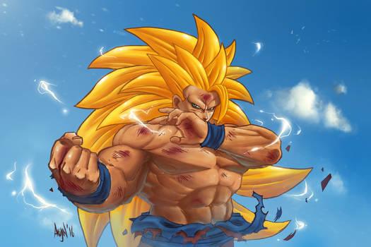 Goku Super Saiyan 3 - Colors
