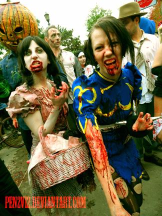 Zombie Chun Li by Pen2Vi2
