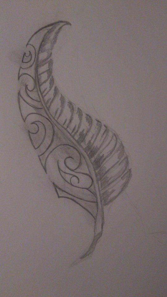 Maori Feather Tattoo: Maori Feather By Hur33 On DeviantArt