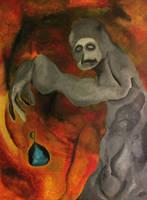 'Necromancer, raise the dead' by eddiebadapples