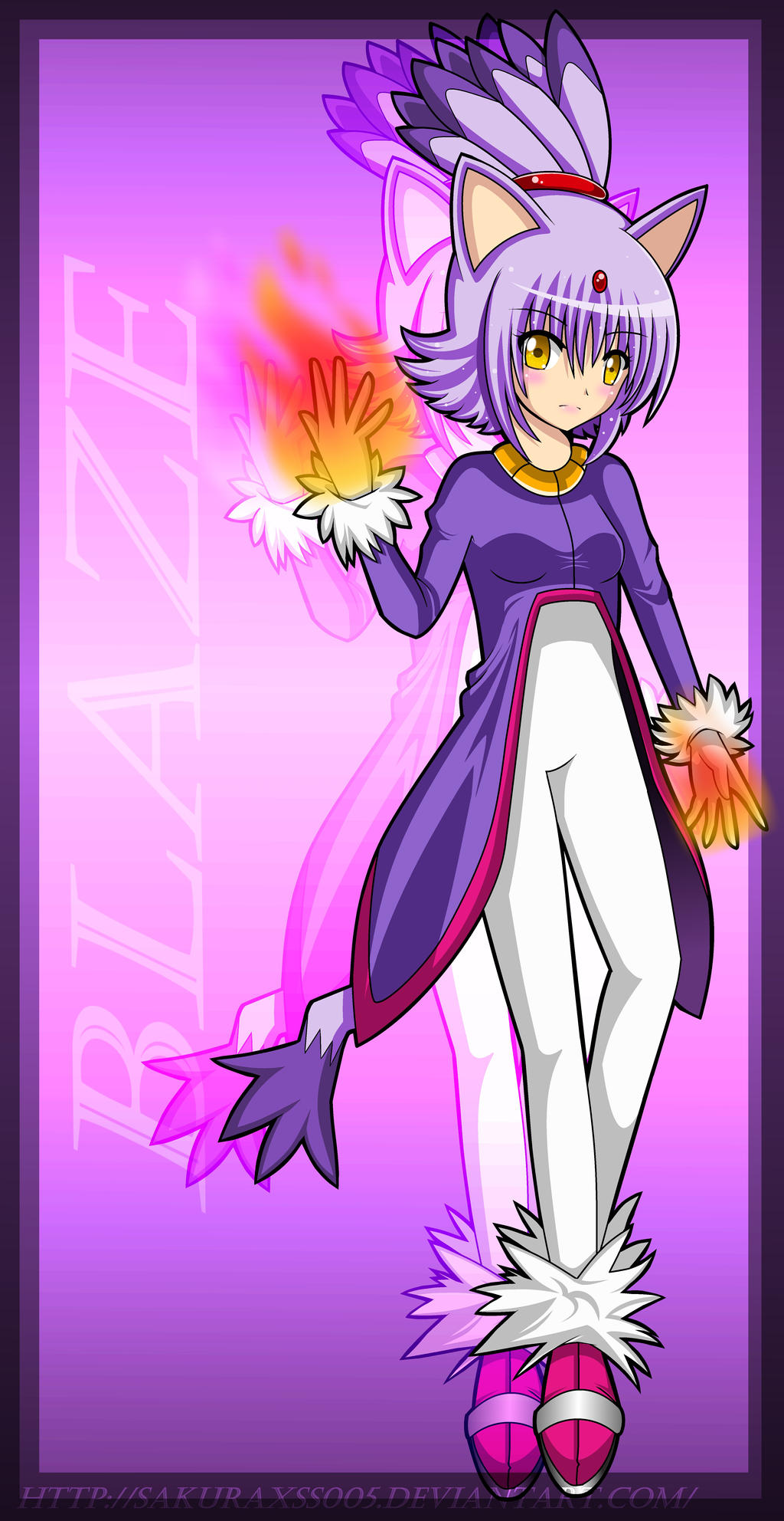 Blaze The Cat Human Form Blaze The Cat Human Form