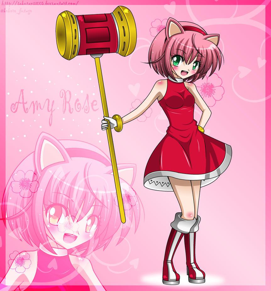 Amy rose human form - photo#3