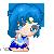 Sailor Mercury Pixel by BunniiChan