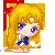Sailor Venus Pixel by BunniiChan