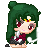 Sailor Pluto Pixel by BunniiChan