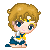 Sailor Uranus Pixel by BunniiChan