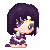 Sailor Saturn Pixel by BunniiChan