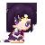 Sailor Saturn Pixel by BunniiChan