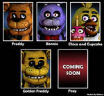 The Five Nights At Freddy's 1 [Characters]