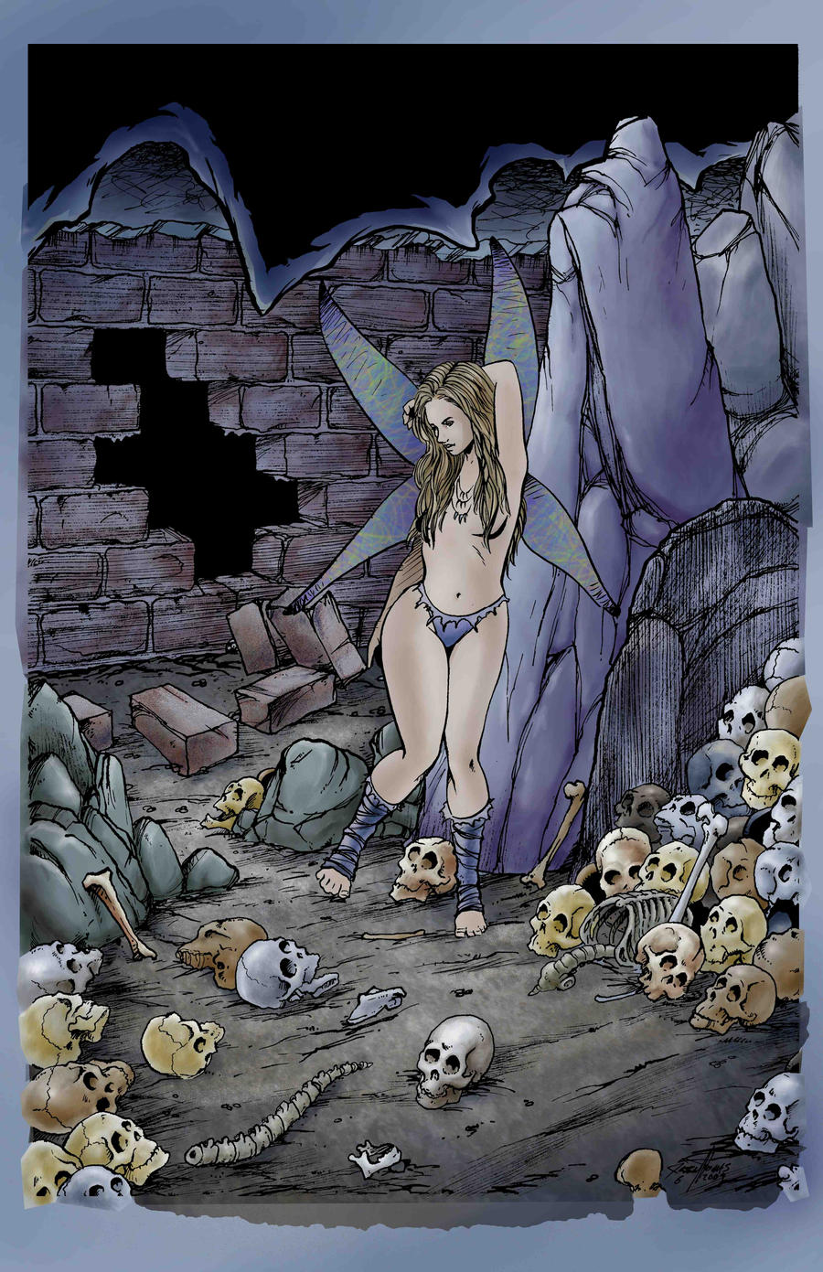 Fairy in the Skull Dungeon by JesseThomas7800