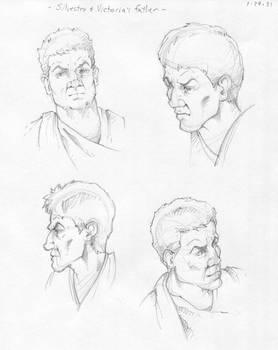 Villain Character Sketches