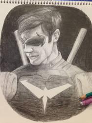 Nightwing by GreatMHapma