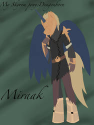 My Skyrim pony:Dragonborn-Miraak by BlueDoberman