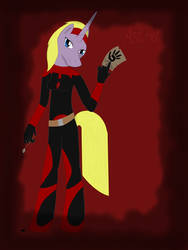 My Skyrim pony:Astrid by BlueDoberman