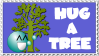 Hug a Tree Stamp v2 by HippieKender