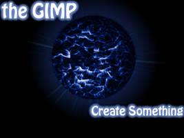 Gimp Planet Splash - Blue