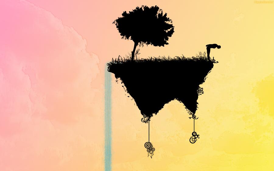 Floating Island by HippieKender