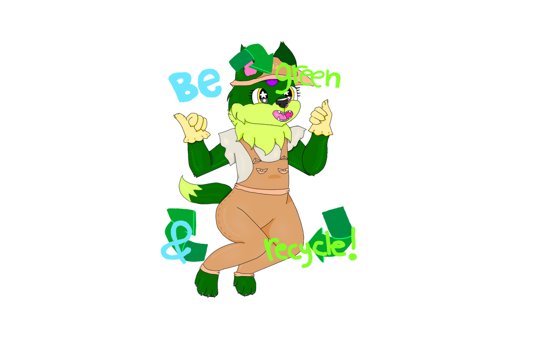 Be green and recycle! by Mysteryportal