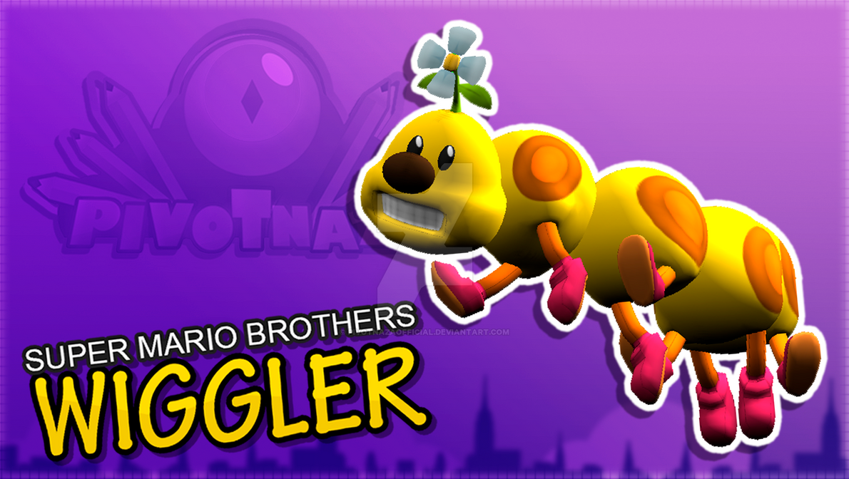 3DMODELS - Wiggler (Super Mario Brothers) by PivotNazaOfficial